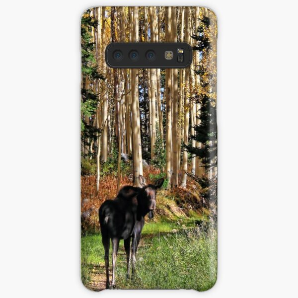 To Hike With A Moose Phone Case Samsung Galaxy Snap Case