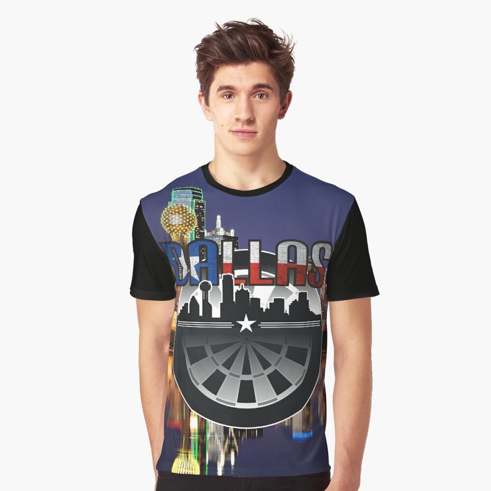 Darts Dallas Graphic T-Shirt