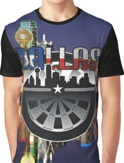 Darts Dallas Graphic T-Shirt