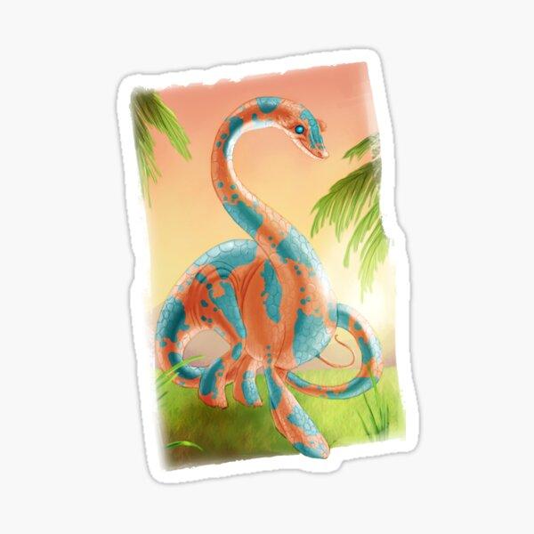 Colourful dinosaur Sticker