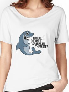 Coconut Sharks / TOP Women's Relaxed Fit T-Shirt