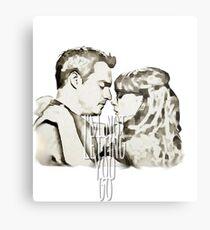 Nick&Jess Metal Print