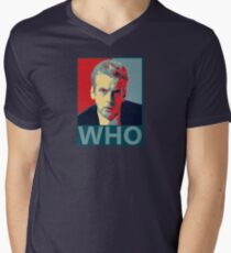 Who? Men's V-Neck T-Shirt