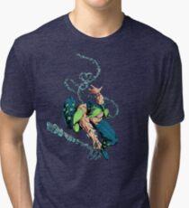 Spider Jolyne Solo Tri-blend T-Shirt