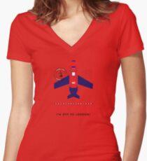 Royal Travel Women's Fitted V-Neck T-Shirt