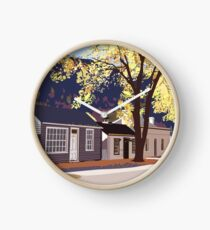 Historic Arrowtown in Autumn Clock