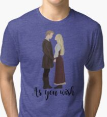 Princess Pride - As You Wish Tri-blend T-Shirt