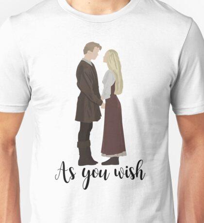 Princess Pride - As You Wish Unisex T-Shirt
