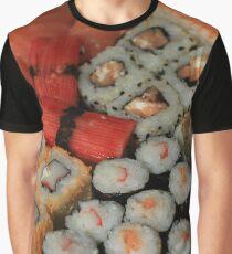 Japanese sushi and sashimi Graphic T-Shirt