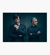 Sherlock and John - Season 4 Photographic Print