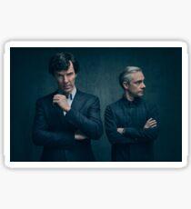 Sherlock and John - Season 4 Sticker