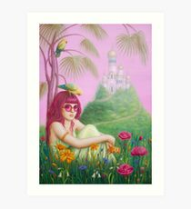 Seek the Garden of Peace - Release Art Print