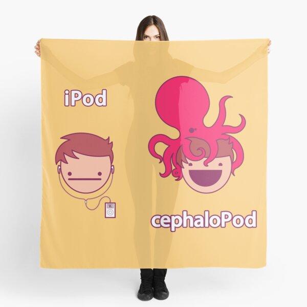 iPod <<< cephaloPod Foulard