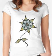 Flower Women's Fitted Scoop T-Shirt