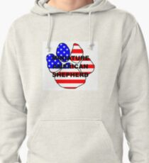 MAS name flag paw Pullover Hoodie