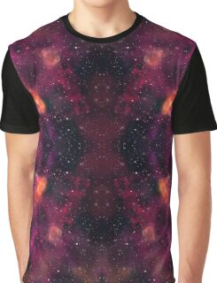 Blood Orchid Galaxy Graphic T-Shirt