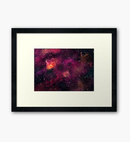 Blood Orchid Galaxy Framed Print