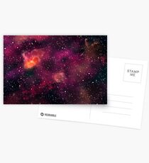Blood Orchid Galaxy Postcards