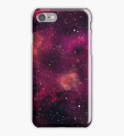 Blood Orchid Galaxy iPhone Case/Skin