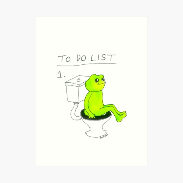 To Do List 1. Art Print