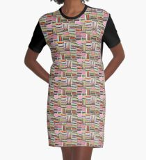 Stacked liquorice allsorts Graphic T-Shirt Dress