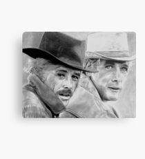 Butch and Sundance Metal Print