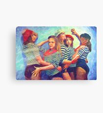 The French Girls Canvas Print
