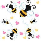 Bee Happy  by Vanessa Trepanier