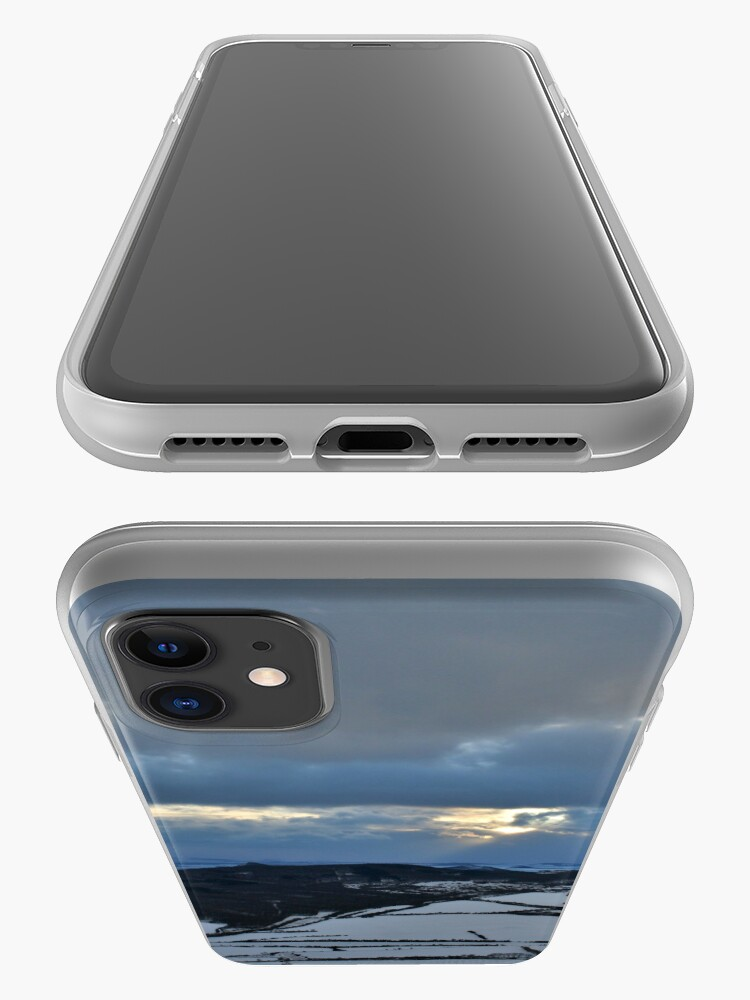 Alternate view of Cloudy evening iPhone Case & Cover