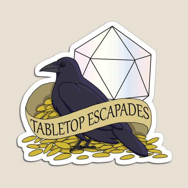 Tabletop Escapades Magnet