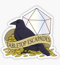 Tabletop Escapades Sticker