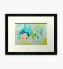 Fen's Art World Mermaid Framed Print