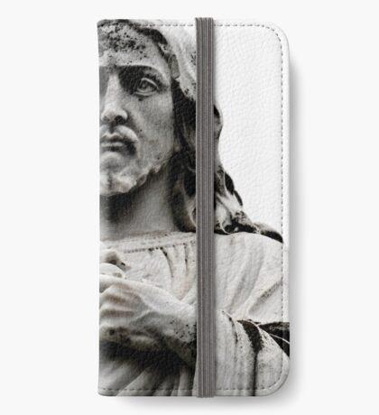 Sacred Heart Jesus iPhone Wallet