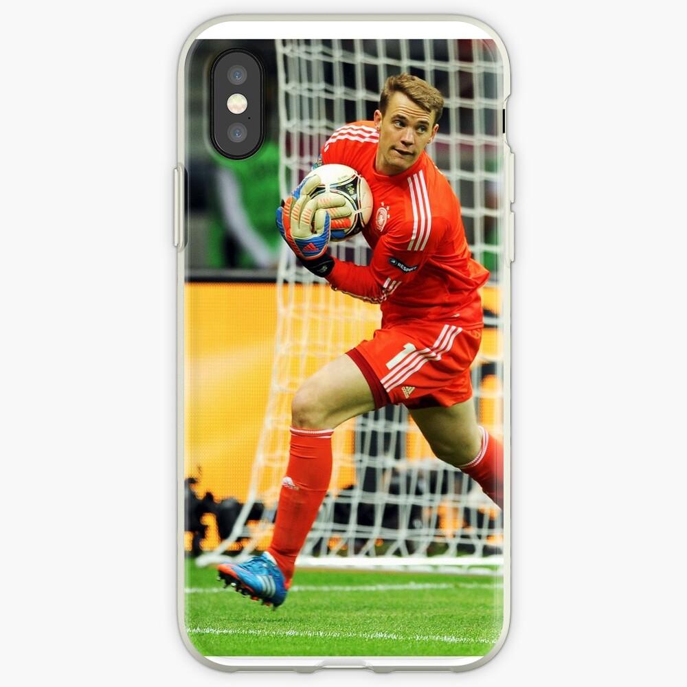Manuel Neuer Telefonkasten iPhone-Hüllen & Cover