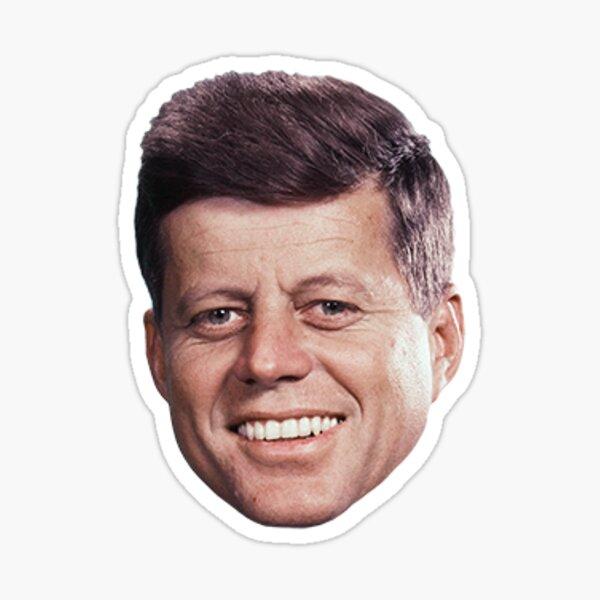 John F. Kennedy Sticker Sticker
