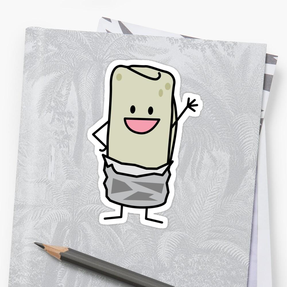 Happy Burrito Waving Hello by BereniceLimon