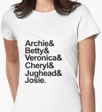 Riverdale Characters Womens Fitted T-Shirt