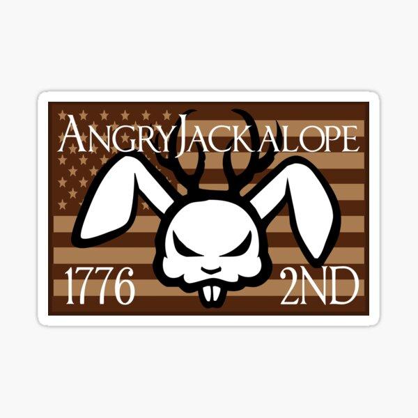Angry Jackalope 2015 Sticker Sticker