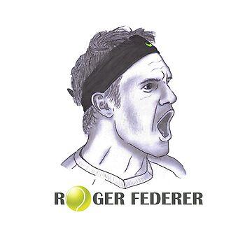 Roger Federer by ayienajmi