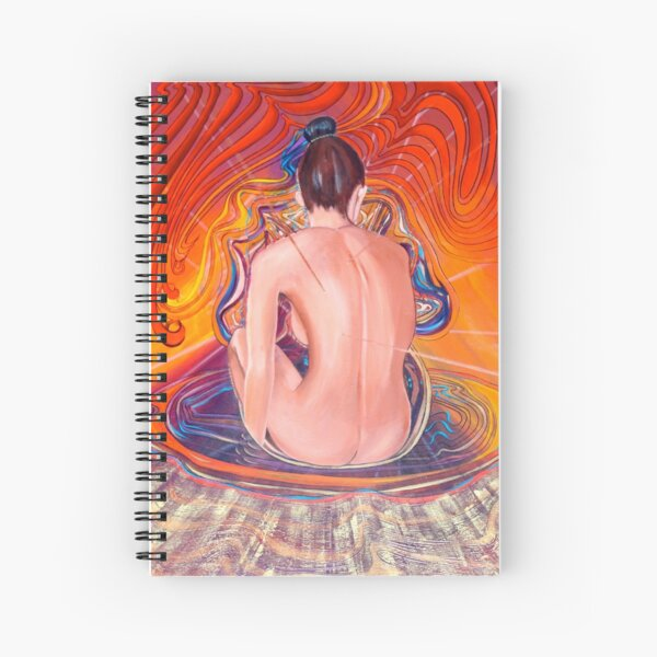 Acupuncture Energy Spiral Notebook