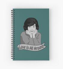 Love Is All Around Spiral Notebook