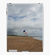 Flags and a surfboard iPad Case/Skin