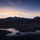 Black Mount Dusk by Tim Haynes