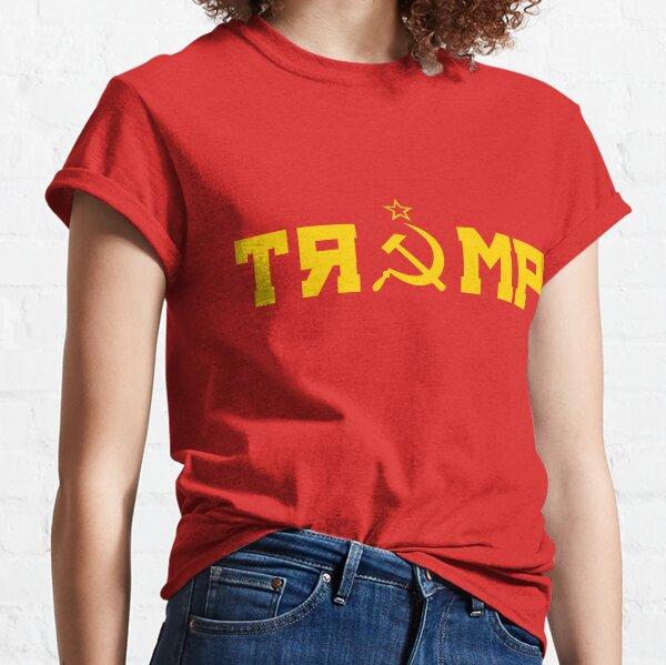 Tee Hunt MAGA Comrade Trump Muscle Shirt Funny Soviet Flag USSR Russian Agent Sleeveless