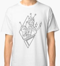 Rick and Morty / Peace Among Worlds  Classic T-Shirt