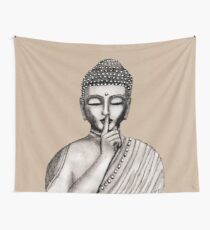 Shh ... do not disturb - Buddha - New Wall Tapestry