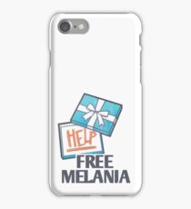 FREE MELANIA iPhone Case/Skin