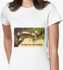 Calvin and Hobbes The Days Are Just Packed T-Shirt