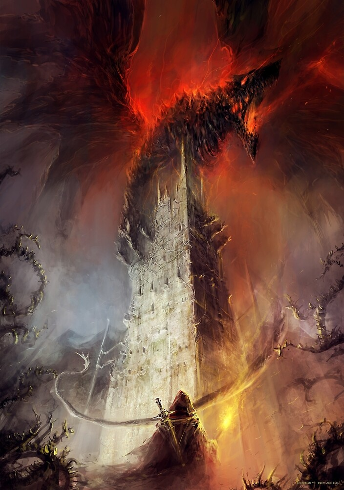 Re-imagined Shadowgate by zojoi
