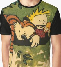 Calvin and Hobbes The Days Are Just Packed Graphic T-Shirt